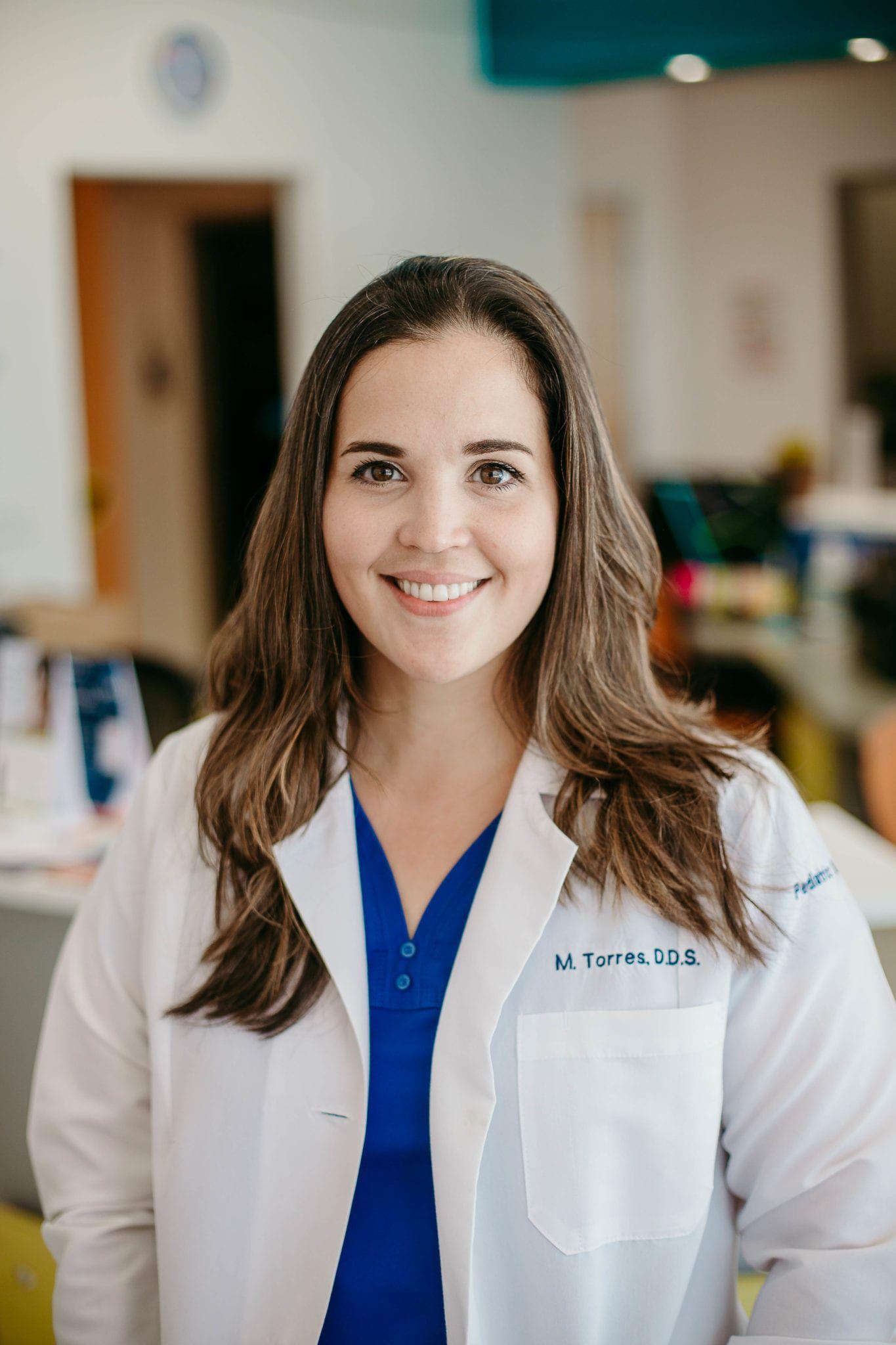 Dr. Torres in Kids World Pediatric Dentistry