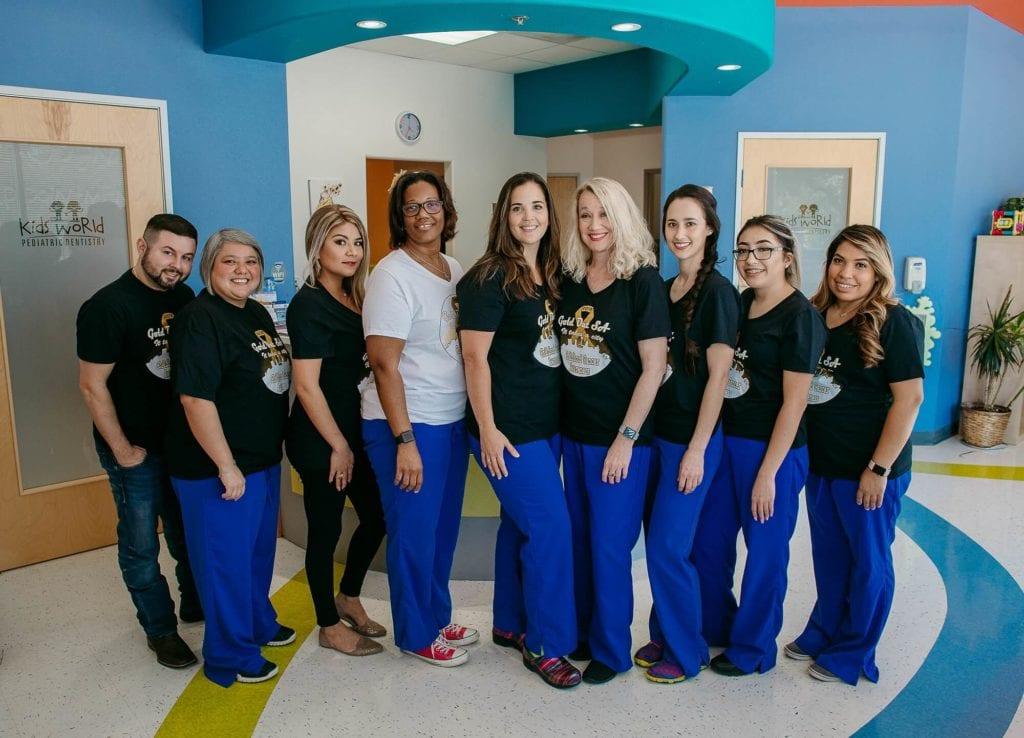 Kids World Pediatric Dentistry Team