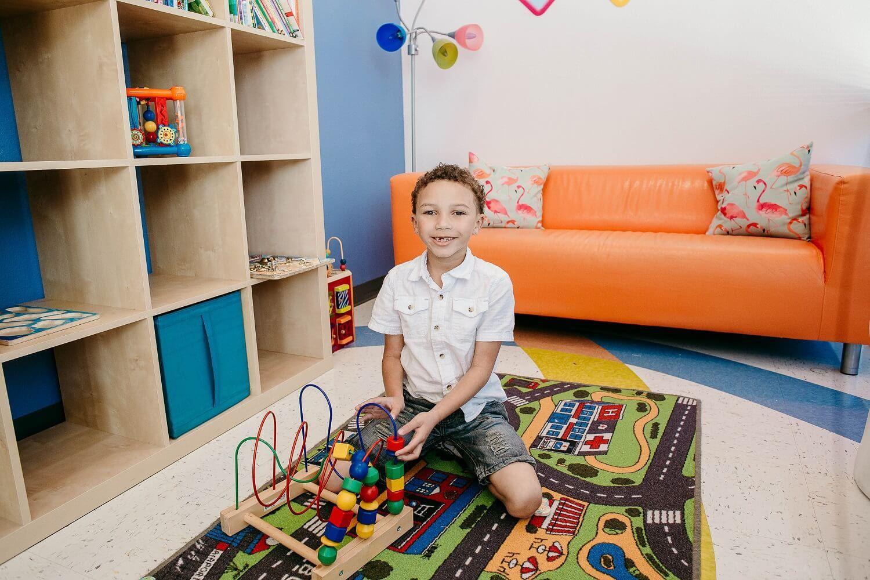 kids playing in Kids World Pediatric Dentistry