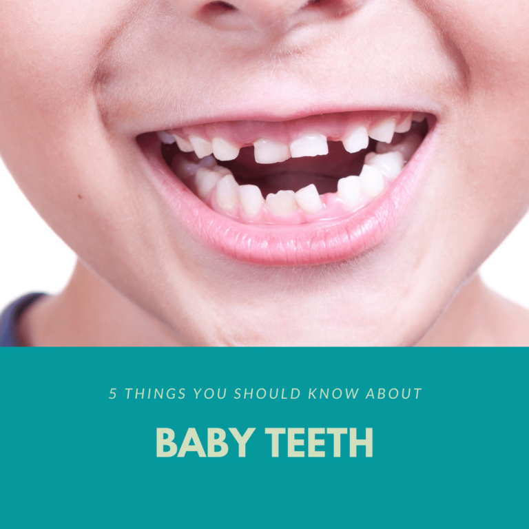5 Things You Should Know About Baby Teeth
