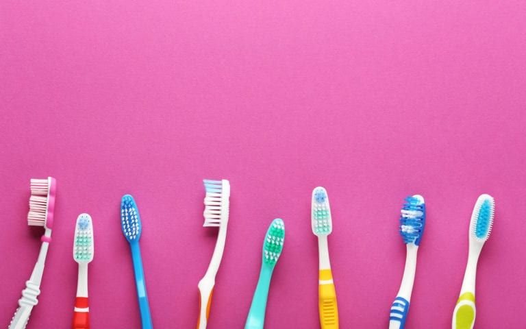 Variety of Toothbrushes